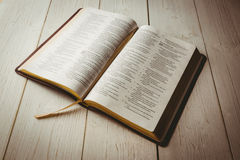 An Open bible Royalty Free Stock Photo