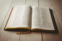 An Open bible Stock Photography