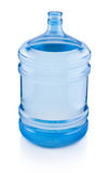 Open big bottle of water isolated on white background Stock Photo