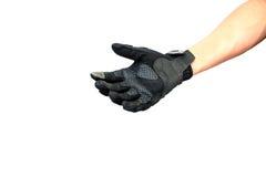 Open biker glove hand Royalty Free Stock Image