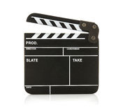 Open Black Clapperboard Royalty Free Stock Photo