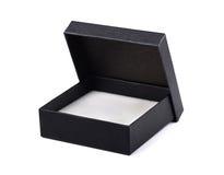 Open black gift box Stock Photo