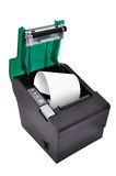 Open black printer Stock Image