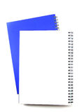 Open Blanco paginanotitieboekje Royalty-vrije Stock Foto