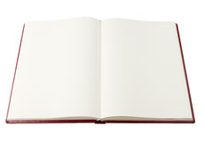 Open blank book Royalty Free Stock Photography
