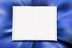 Open blank book Royalty Free Stock Photos