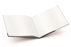 Open blank book-cilipping path Royalty Free Stock Images