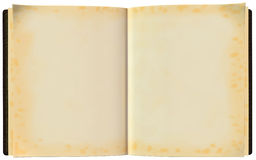 Open Blank Book Illustration Isolated Stock Photos