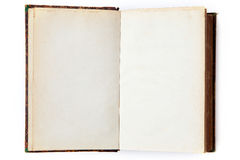 Open blank book Royalty Free Stock Image