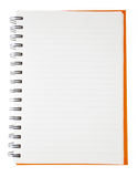 Open blank notebook Stock Photos