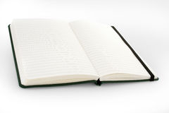 Open blank notebook / phone book / diary Stock Photo