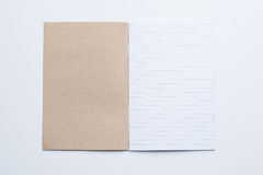 Open Blank Page notebook Royalty Free Stock Image