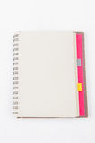 Open Blank Page notebook Stock Photography