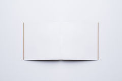 Open Blank Page notebook. Open Blank Page white notebook Stock Photo