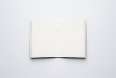 Open Blank Page notebook Royalty Free Stock Images
