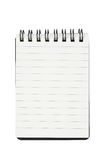 Open blank page notepad, notebook Royalty Free Stock Photography