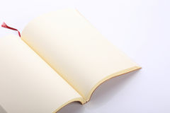 Open blank paper page Royalty Free Stock Photo