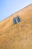 Open blue shutter window Royalty Free Stock Photos