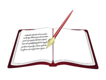 Open boek royalty-vrije illustratie