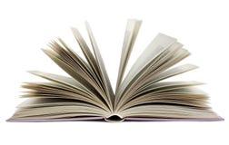 Open boek Stock Afbeelding