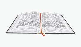 Open boek. vector illustratie