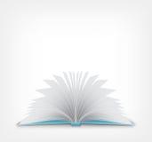 Open Boek. stock illustratie