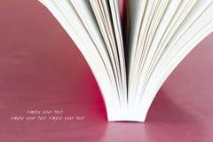 Open Boek royalty-vrije stock fotografie