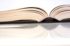 Open boek Stock Foto's