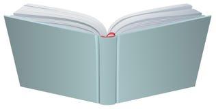 Open boek hardcover 3d realistische vectorillustratie vector illustratie