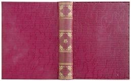 Open boek - rood Royalty-vrije Stock Foto's