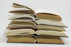 Open Boeken Royalty-vrije Stock Afbeelding