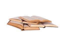 Open Boeken Stock Afbeeldingen