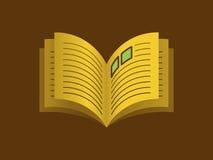 Open Boekje vector illustratie