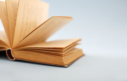 Open Book. An old open book Royalty Free Stock Image