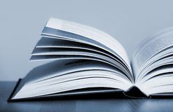 Open book. Close up photo of a open book Royalty Free Stock Photo