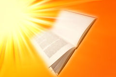 Open book. Stock Images