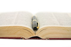 Open book stock photography