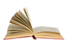 Open book. An open book on white Royalty Free Stock Images