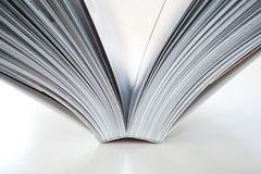 Open Book. On white background Royalty Free Stock Images