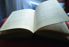 Open book. Close up view of an open book Stock Images