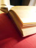 Open book. Detail of an open book Royalty Free Stock Photo
