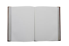 Open book. Isolated on the white background Royalty Free Stock Photography
