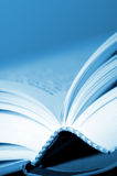 Open book. Macro detail with shallow depth of focus of an open book Stock Photo