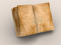 Open book. Very beautiful graphic three-dimensional the image. open book 3d Royalty Free Stock Photography
