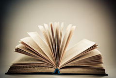 Open book Royalty Free Stock Photo