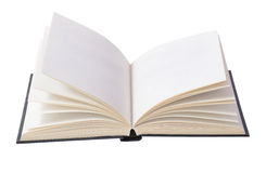 Open book. On  isolated on white Royalty Free Stock Photo
