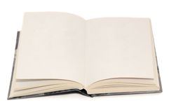 Open book. Isolared on white background Royalty Free Stock Images