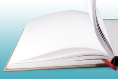 Open book. With diversified pages Stock Photos