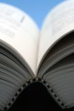 Open book. Close-up Stock Photography