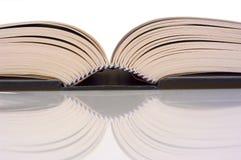 Open book. Detail of a open book stock photos